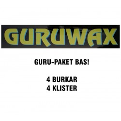 GuruWax - Vallapaket Bas